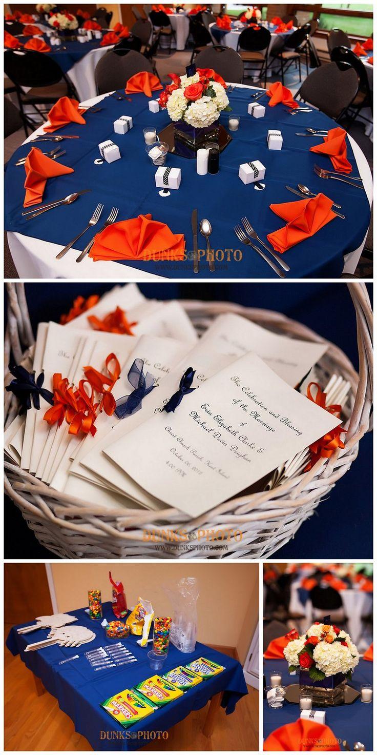 Kent Island wedding    orange blue wedding  www.dunksphoto.com