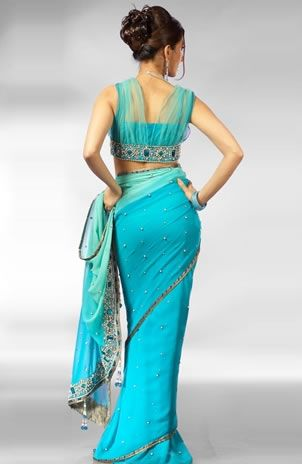Gorgeous Saree & Blouse  ~ Queen Of Heaven...