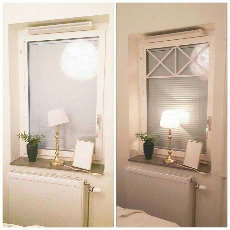 Snygga fönster med dubbelhäftande tejp