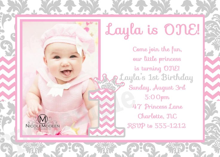 47 best 1st Birthday Party Invitations images on Pinterest