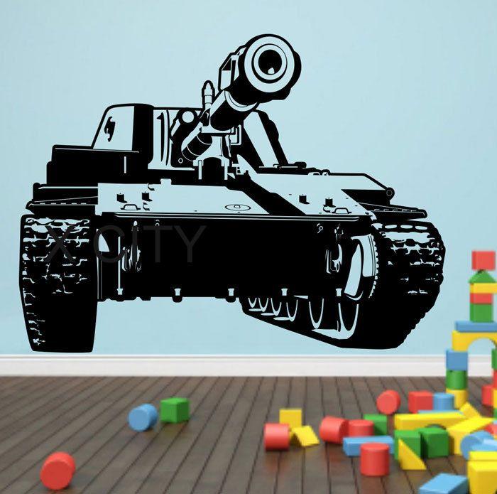 Армия армия бак стены искусства винил стикера детские декор гостиной спальни дома интерьер офиса росписи трафарет