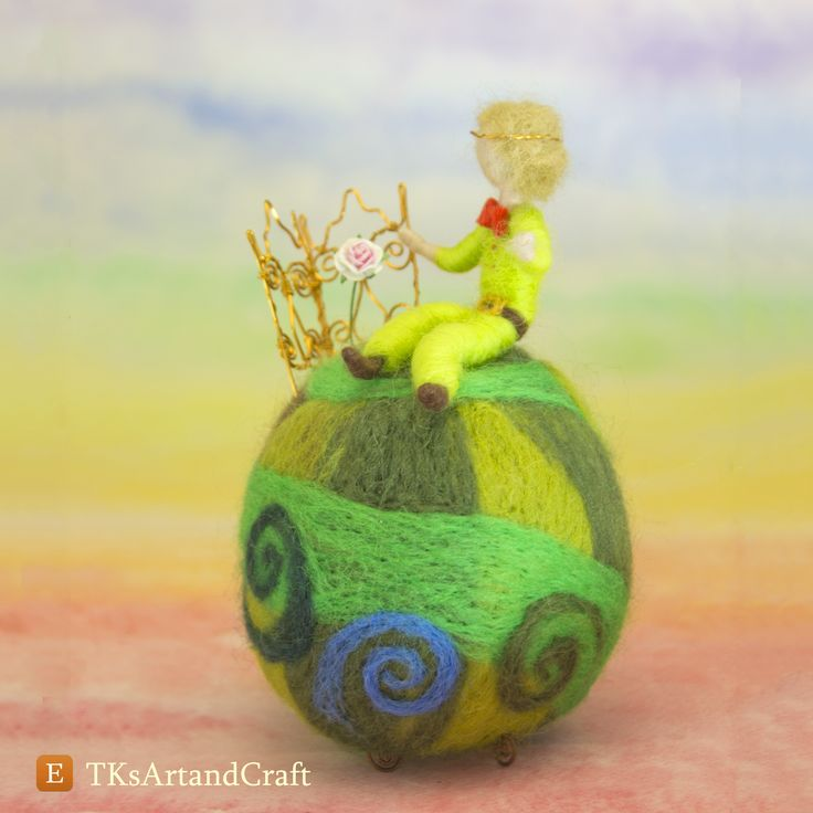Little prince, rose, planet
