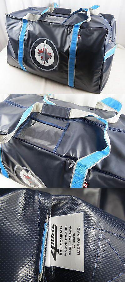 Equipment Bags 58113: New! 4Orte Team Issued Winnipeg Jets Nhl Pro Stock Hockey Player Equipment Bag -> BUY IT NOW ONLY: $149.88 on eBay!