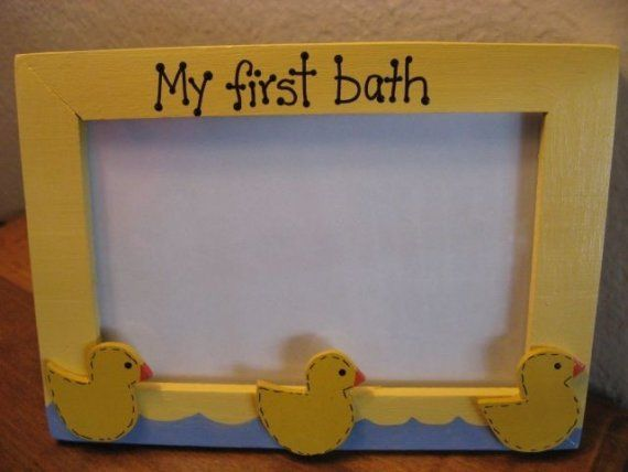 I think I could make this first bath frame!