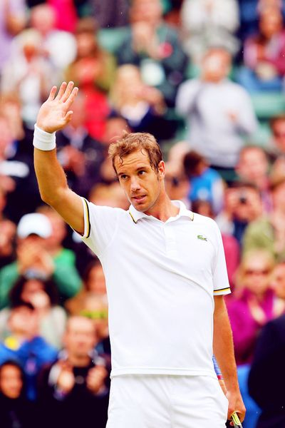 Richard Gasquet @JugamosTenis #tennis #tenis #Wimbledon