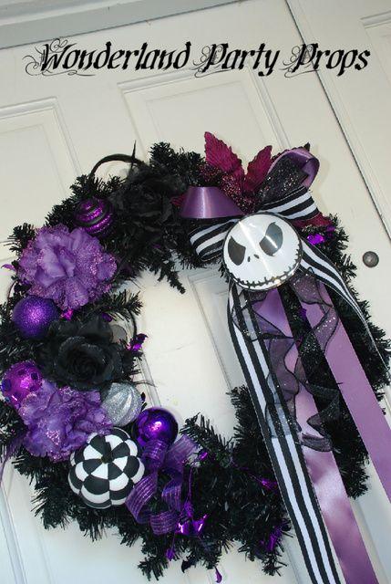 "Photo 2 of 6: Nightmare Before Christmas / Halloween ""Halloween door entrance"" | Catch My Party"