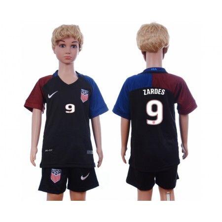 USA Trøje Børn 2016 #Zardes 9 Udebanetrøje Kort ærmer.199,62KR.shirtshopservice@gmail.com