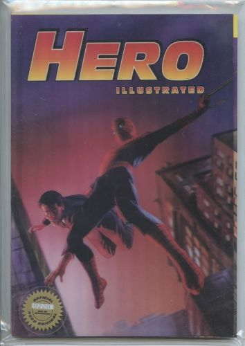 Hero Illustrated #6 Lenticular 3D Variant Alex Ross Amazing Fantasy 15 Homage