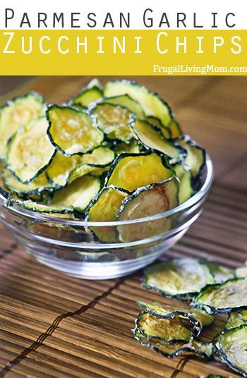 Parmesan Garlic Zucchini Chips- These Parmesan Garlic Zucchini Chips do not disappoint, they are awesome.