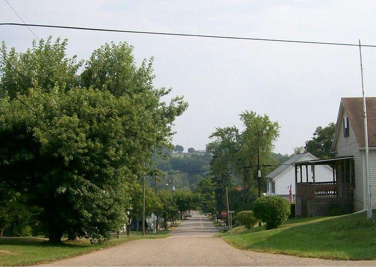 Belmont historic district in belmont county ohio