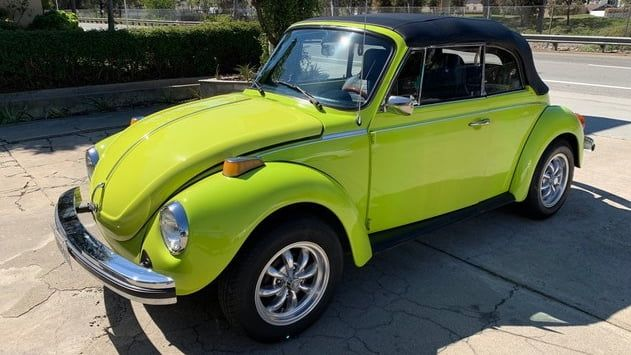 1974 volkswagen super beetle convertible presented as lot t90 at glendale az beetle convertible vw beetle convertible vw super beetle pinterest