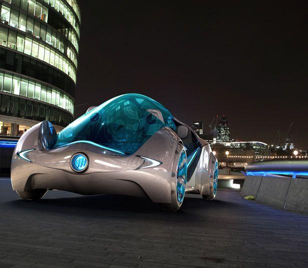 Buick concept. Half car/ half water vehicle