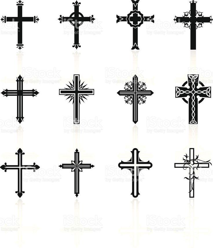 Célèbre Les 25 meilleures idées de la catégorie Tatouages de croix en bois  UN48