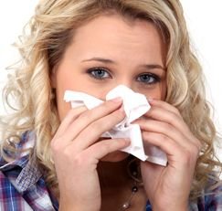 Ear Massage Verlicht Allergy benauwdheid