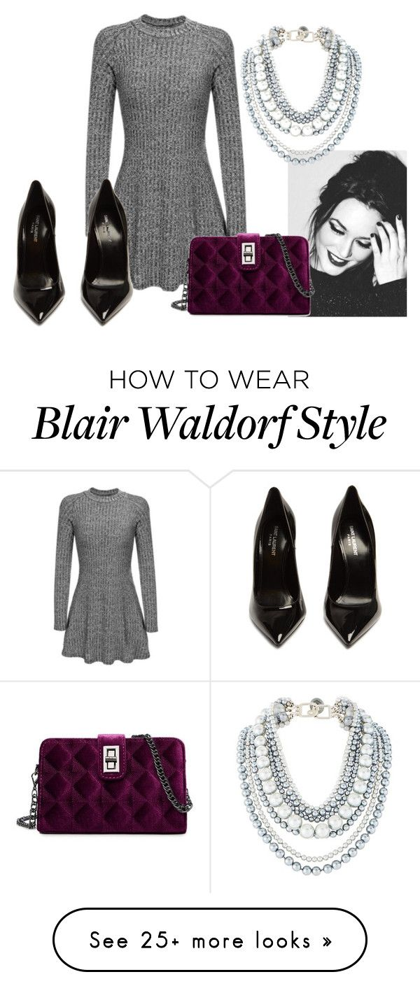 """""""Sem título #327"""" by itsarafa on Polyvore featuring Yves Saint Laurent"""