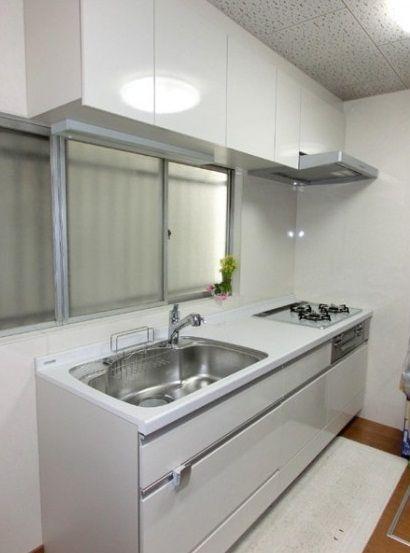 堺市】LDK・浴室リフォーム システムキッチンはサンウェーブ製「アミィ ... 1359