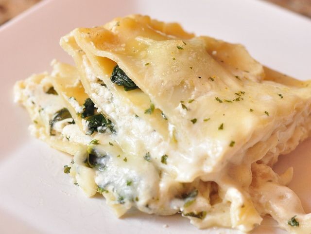 Chicken lasagna with spinach in the ninja recipe for Spinach chicken lasagna recipe