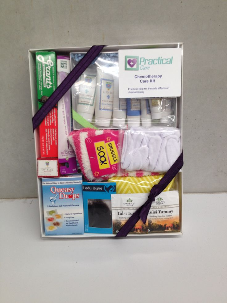 Practical Care Deluxe Chemotherapy Care Kit. $120, available at www.practicalcare.com.au