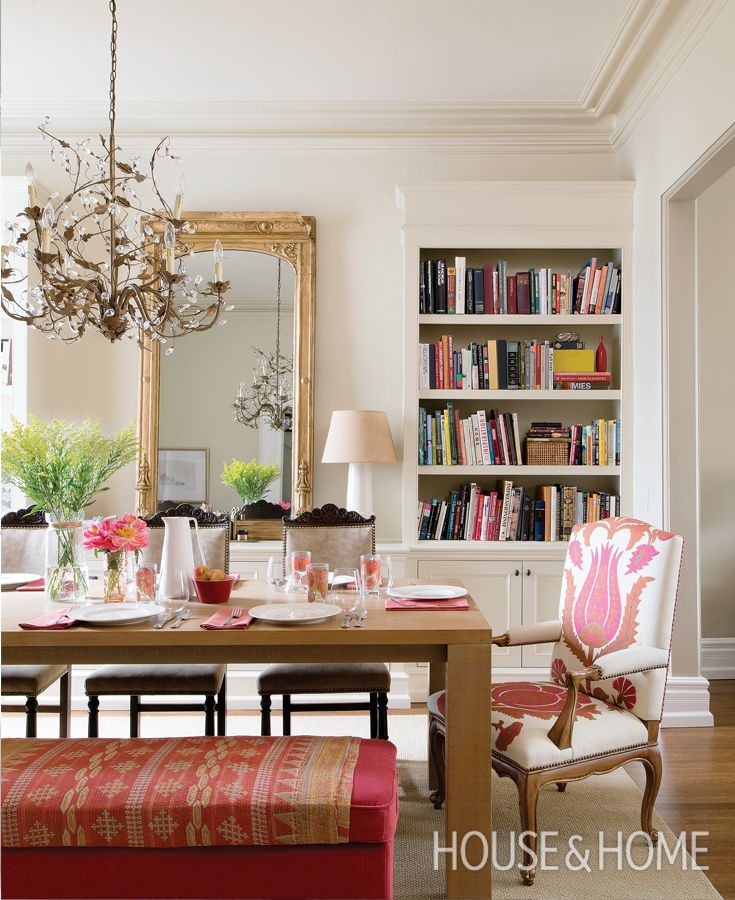 A double duty dining room and home office learn how to use one room