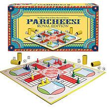 parcheesi... Loved this game too!  And the winner always got to wear the princess crown!