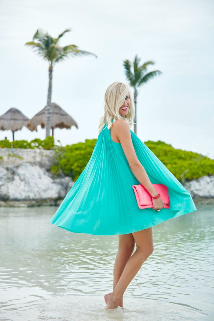 Tracy Reese Pleated Swing Dress - Mckenna Bleu