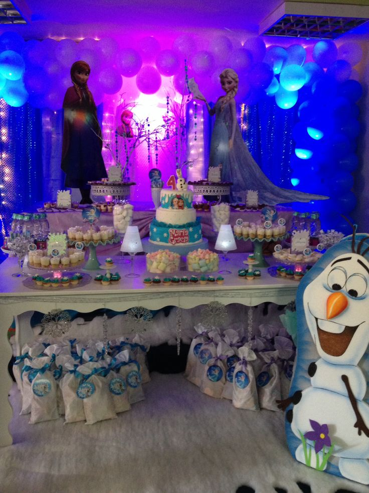 22 best images about decoracion frozen on pinterest