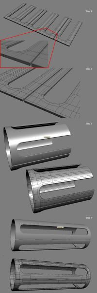FAQ: How u model dem shapes? Hands-on mini-tuts for mechanical sub-d AKA ADD MORE GEO - Page 27 - Polycount Forum
