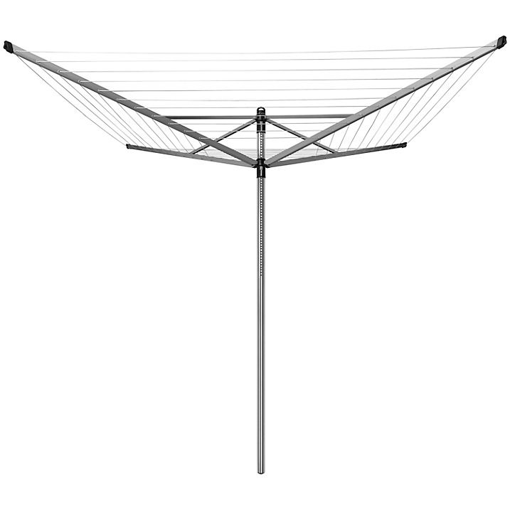 Buy Brabantia Lift-O-Matic Outdoor Rotary Airer, with Soil Spear and Cover, 60m Online at johnlewis.com