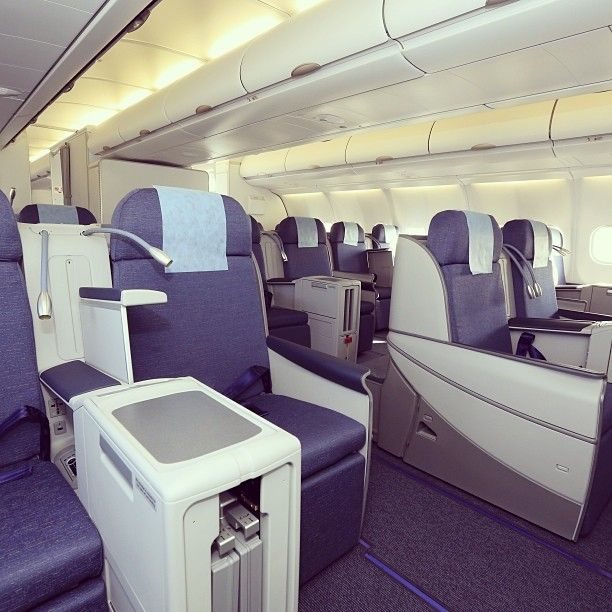 The Air Namibia brandnew Business Class with gourmet ...