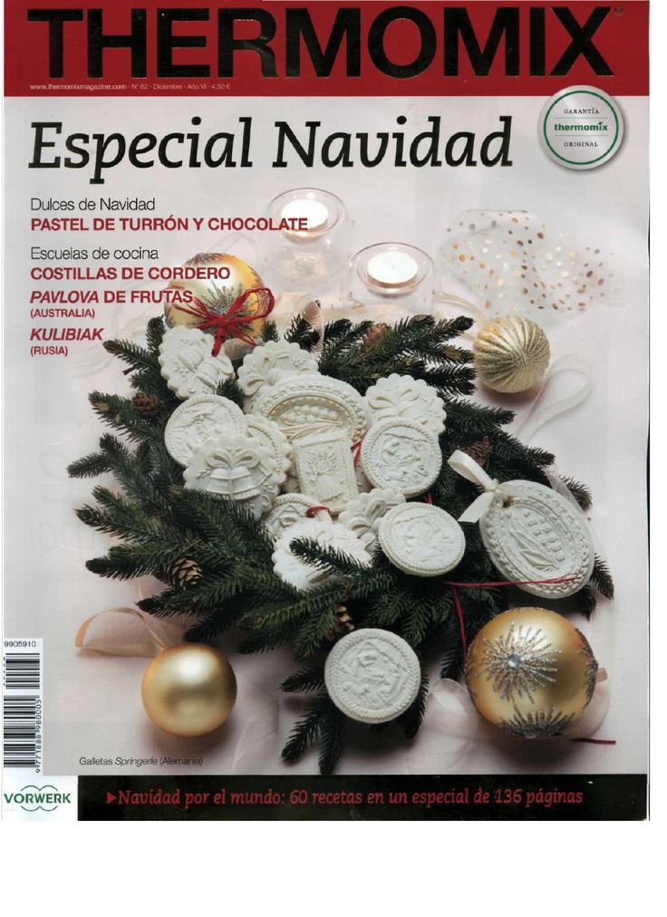ISSUU - Revista thermomix nº62 especial navidad de argent