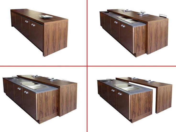 17 migliori idee su piano cucina in legno su pinterest - Piano lavoro cucina legno ...