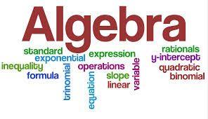 Why learn Algebra information?