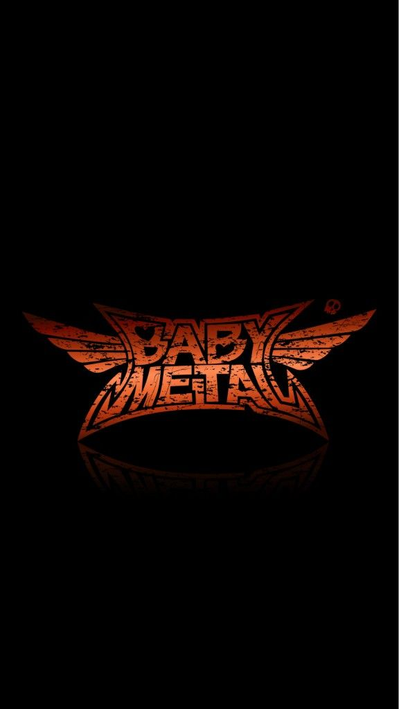 BABYMETAL/定番ロゴ iPhone Wallpaper iPhone壁紙