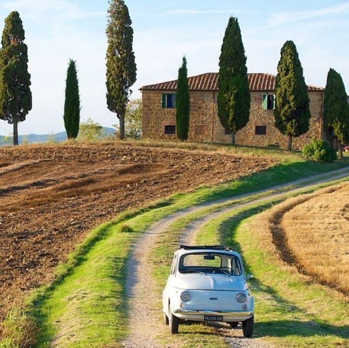 I wish I was Italian Summers in Tuscany!