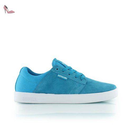 KIDS WESTWAY turquoise white SUPRA - Chaussures supra (*Partner-Link)