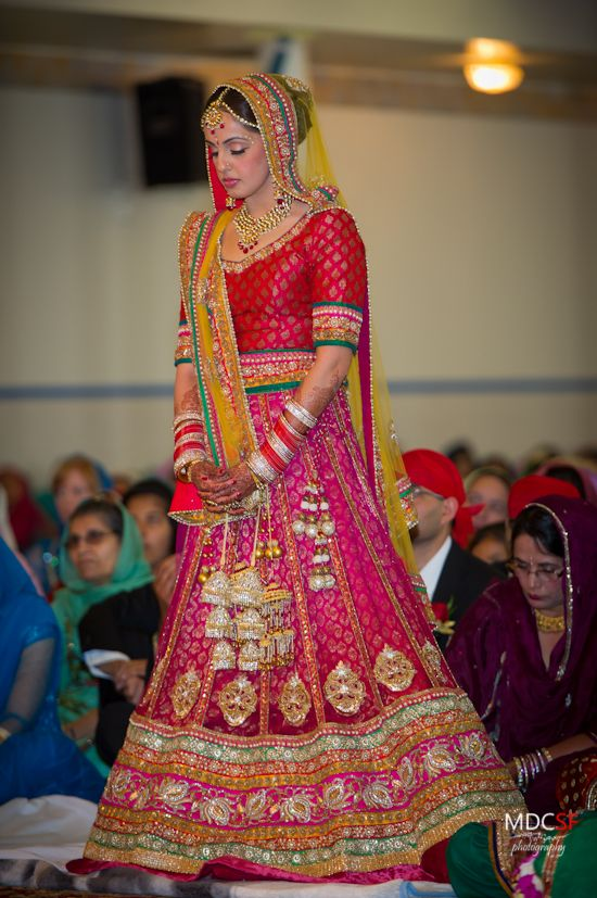 18 best images about Punjabi Wedding Dresses on Pinterest | New jersey, Lehenga designs and ...