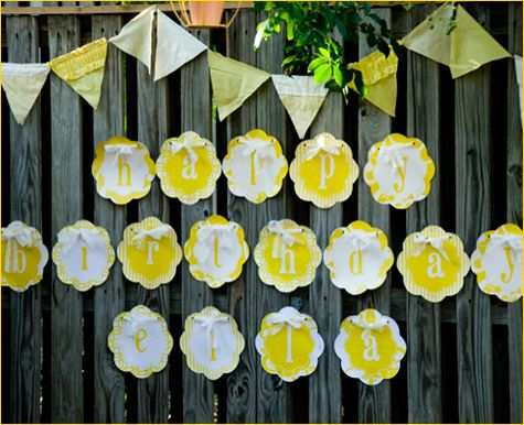sunshine theme birthday party