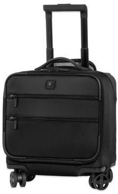 Victorinox Lexicon 8-Wheel Overnight Bag with Retractable Handle in Black