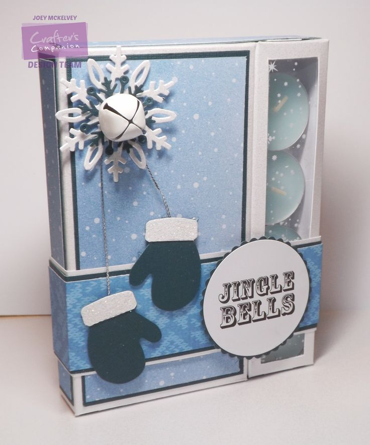 Tutorial: Chocolate & Candle box | Crafters Companion Blog