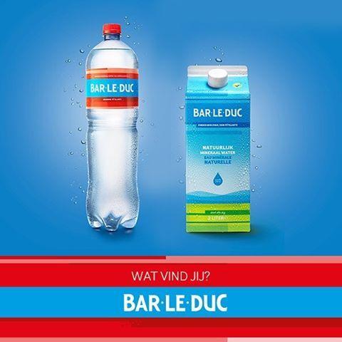 Heb jij onze nieuwe verpakkingen al gespot? Wij vinden ze fantastisch! Maar wat vind jij? #barleduc #mineraalwater #water #fris #gezond #healthy #verfrissend #nieuw