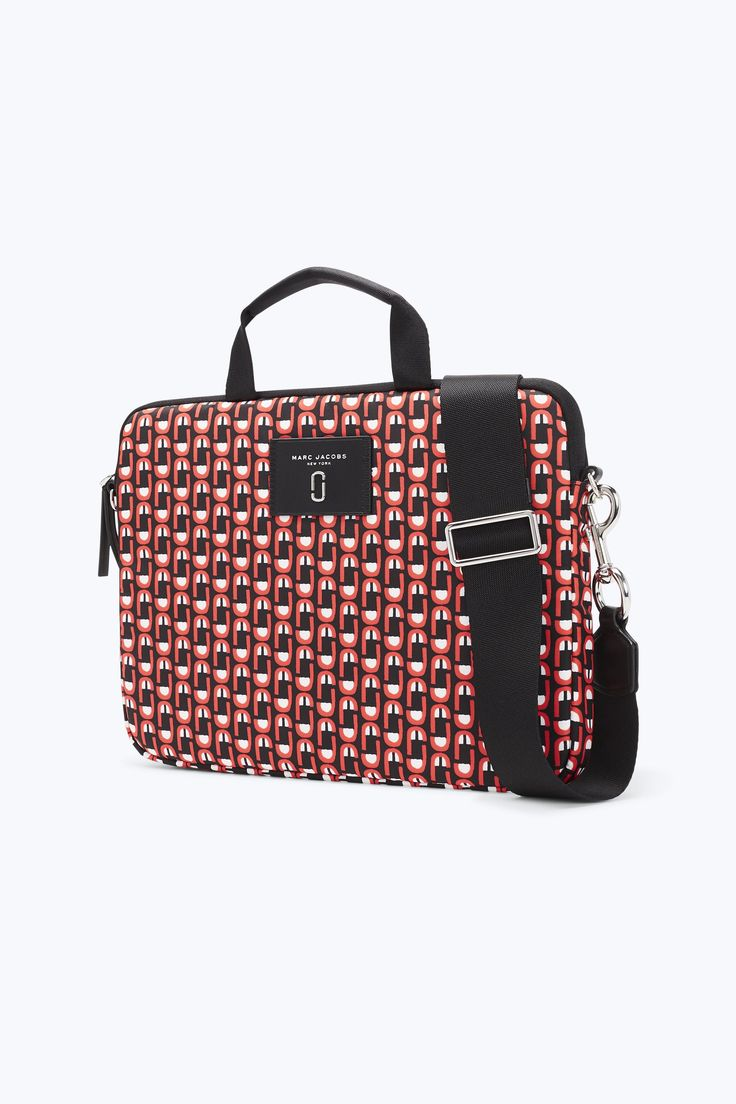 Here's something to scream over: our super-convenient commuter case now features our seasonal monogram scream print. Tote around your tech essentials safely and in style with this convenient case ideal for commuting.
