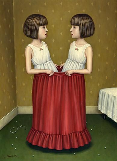 Алиса в стране чудес и зазеркалье в иллюстрациях художника Шиори Мацумото…