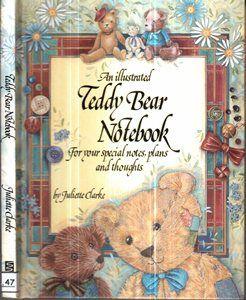 An Illustred Teddy Bear Notebook - Sebo do Bau   Estante Virtual