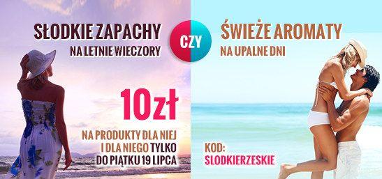 Jaki zapach lubisz? Słodki czy może świeży? Do piątku 19 lipca słodkie lub świeże zapachy   jeszcze taniej! http://www.kokai.pl/slodkierzeskie