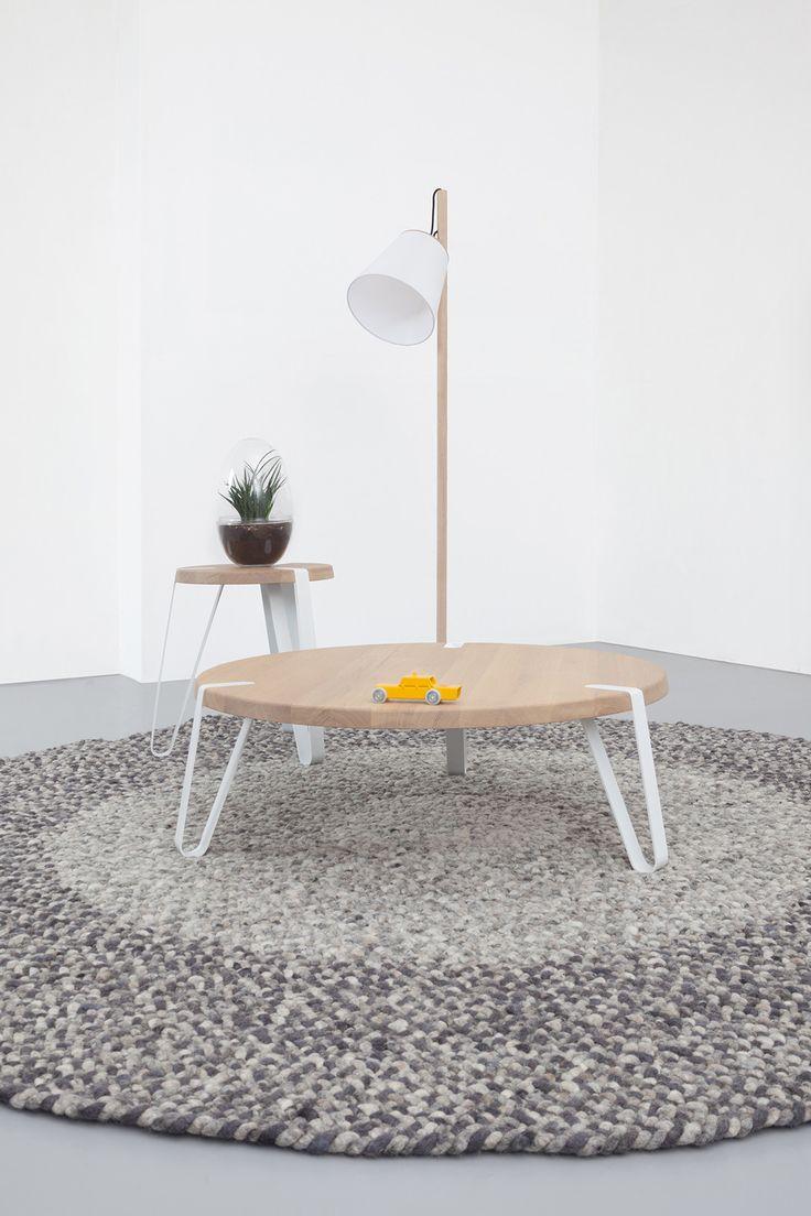 Fesselnd Der Level Couchtisch Ist Ein Runder Designtisch Von Designer Erik Remmers.  Exklusiv Online Erhältlich Bei