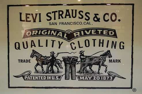 """The Man Who Changed the World of Casual Fashion. Levi Strauss, is the man behind the famous brand of denim """" Levis Strauss"""", which was first introduced in 1873. Together with his partner Jacob Davis, Levis produced patented copper riveted denim """"waist overalls"""" now popularly known to every household as Levi's jeans."""