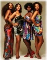 "These are the Afro-Brazilian women of the novela ""Duas Caras"". They are from left to right: Cris Vianna, Sheron Menezes, Adriana Alves e Juliana Alves"