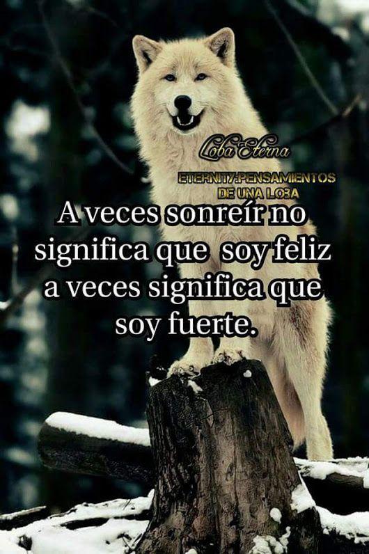Resultado De Imagen Para Loba Eterna Lobos Wolf Frases Y Strong