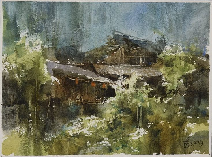 【Watercolor in 40 minutes 18*13 cm 】..by Chien Chung Wei