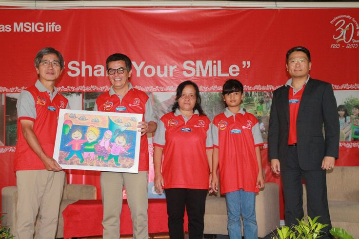 Share Your Smile Sinarmas MSIG Life in Village Semarang